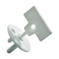 Safety 1st Stopcontactbeschermer met sleutel (12 stuks)