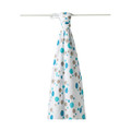 Aden + Anais Swaddling Wrap Star Bright Blue
