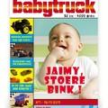 Geboortekaartjes - Origineel Babytruck (P-565)