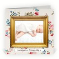 Geboortekaartjes - Retro & Vintage Fotolijstje (R-1725)