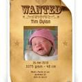 Geboortekaartjes - Jongen Wanted (P-527)