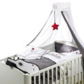 4-delige Rock Star Baby bedtextiel set