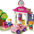 PlayBig Bloxx autogarage Hello Kitty