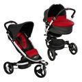 Kinderwagen BabyZen Topline Black/Red Compleet