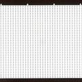 Hama Strijkkralen Grondplaat Rechthoek (232)