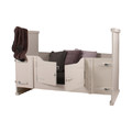 Happy Baby Peuterbed Holland Kiske Wit 70 x 150 cm