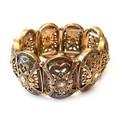 Sieraad Gigagaaf Armband met steentjes Goud