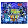 Behang Walltastic Scooby Doo Multicolor