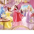 Behang Walltastic Prinsessen 3 Multicolor