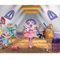 Behang Walltastic Angelina Ballerina Multicolor