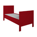 Bed Stokke  Pure Kids Rood 90x200