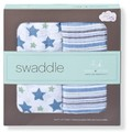 Wikkeldoek Nybble Swaddle 2-pack princess posy