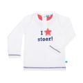 Lief! T-shirt Ster Stoer! White Mt. 80