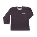 Lief! T-shirt Basic Stoer! Boy Pavement Grey Mt. 80