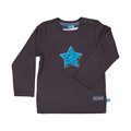 Lief! T-shirt Stoer! Star Pavement Grey Mt. 62