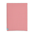 Lief! Red Check Hoeslaken 60x120