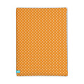 Lief! Orange Dot Hoeslaken 90x200