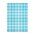 Lief! Light Blue Check Hoeslaken 60x120