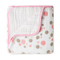 Aden + Anais Dream Blanket Star Light Pink