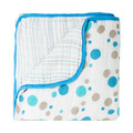 Aden + Anais Dream Blanket Star Bright Blue