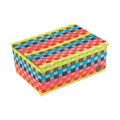 Handed By Flaptop Rectangular Multicolor S