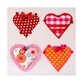 Moepa Schilderij 3D Candy Colours Hearts