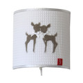 Little Tulip Wandlamp Deer Naturel Beige Satin