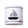 Little Tulip Hanglamp Sail Boat Wafel Wit