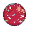 Pip Birds In Paradise Kussen Red Rond 40 cm