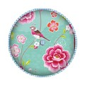 Pip Birds In Paradise Kussen Blue Rond 40cm