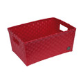 Handed By Open Basket met Handgrepen Red