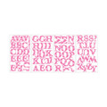 RoomMates Applique Express Yourself Pink