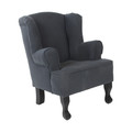 Kidsriver Kinderfauteuil London Dark Grey