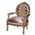 Happy Baby Fauteuil Glamour Zilver-zilver