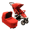 Easywalker Qtro Plus Compleet Berry Red