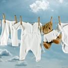 Tips voor het wassen van babykleertjes